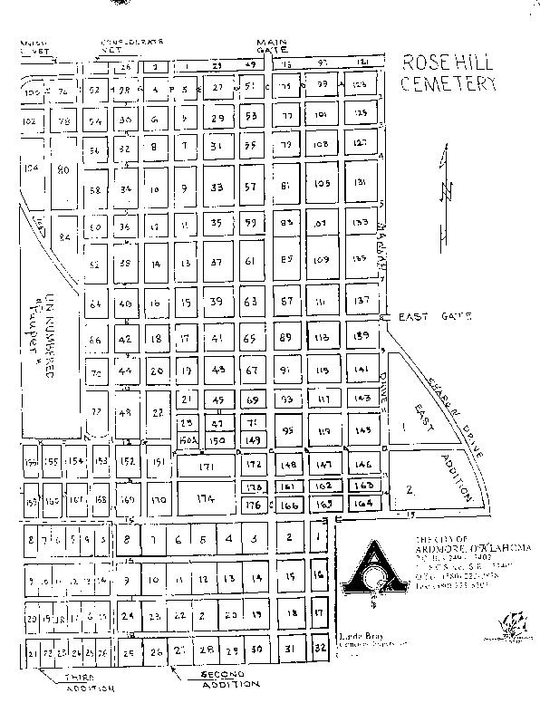 Rose Hill Map